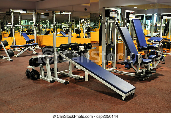 FItness club gym  - csp2250144