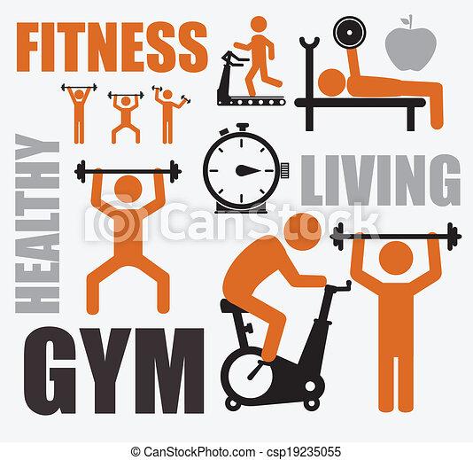 Fitness design - csp19235055