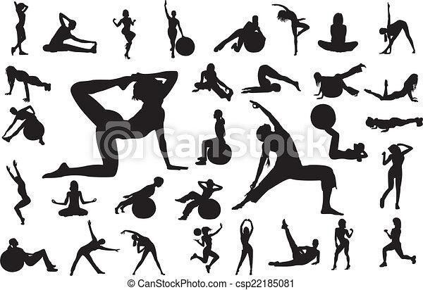fitness - csp22185081