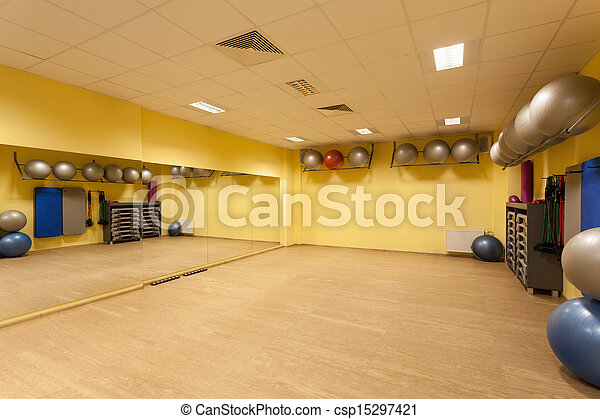 Fitness gym - csp15297421