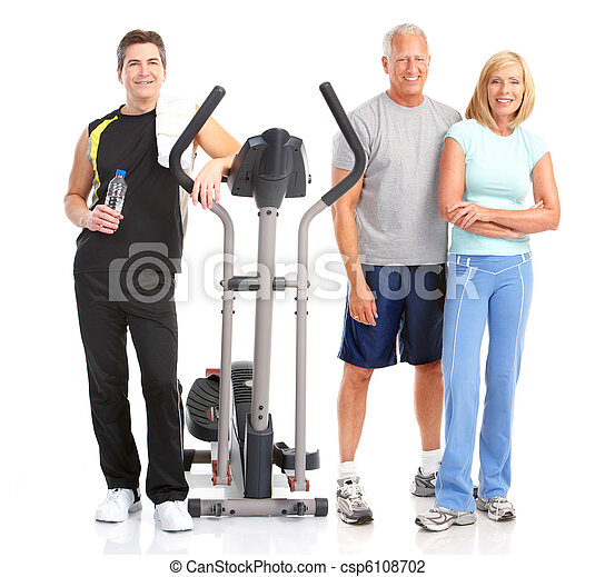 &, fitness, gymnase - csp6108702