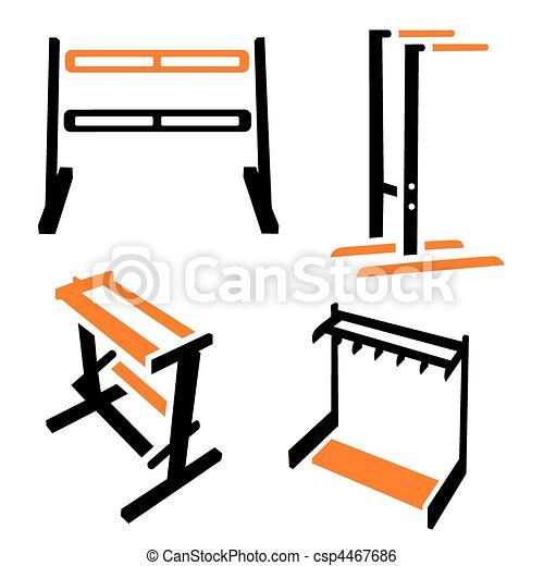 Fitness Icons - csp4467686