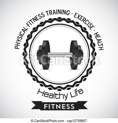 Fitness Icons - csp12759857