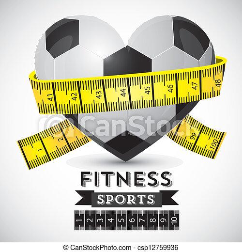 Fitness Icons - csp12759936