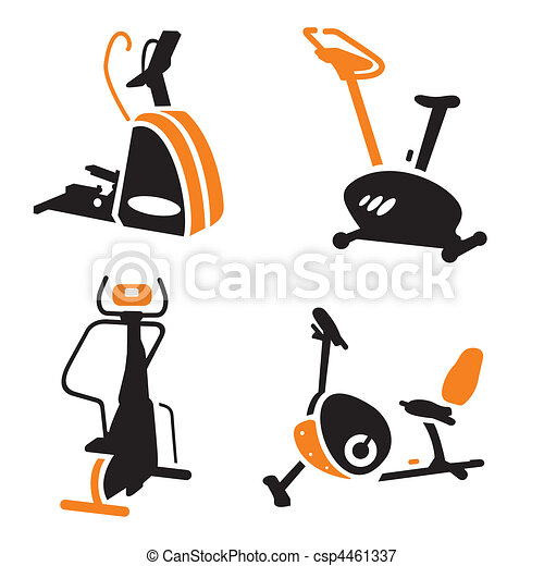 Fitness Icons - csp4461337