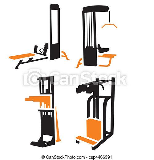 Fitness Icons - csp4466391