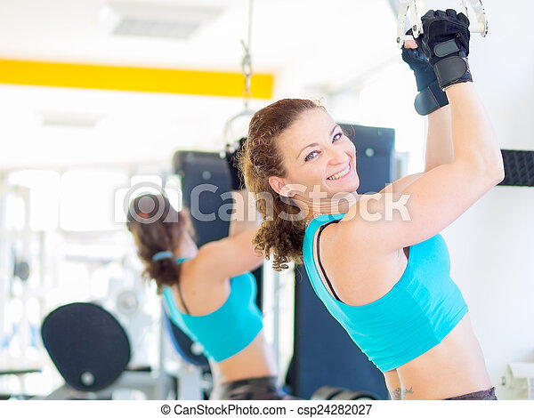 Fitness in Gym - csp24282027