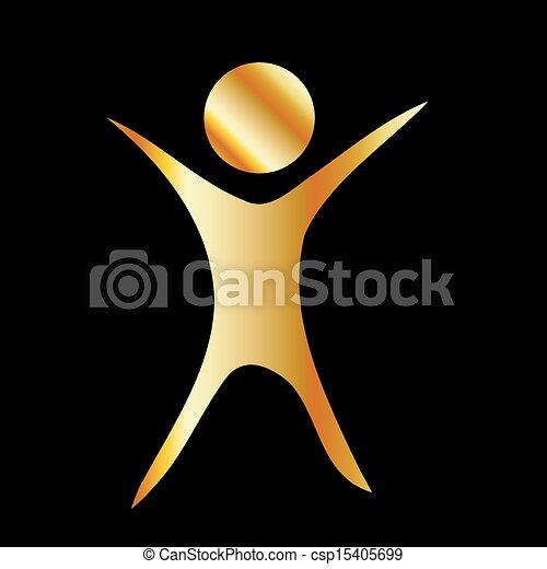 Fitness logo - csp15405699