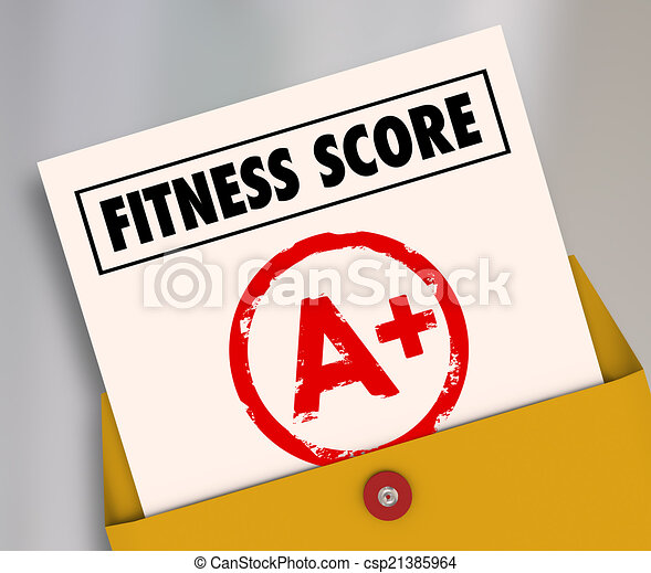 Fitness Score A+ Plus Top Grade Rating Review Evaluation Result - csp21385964