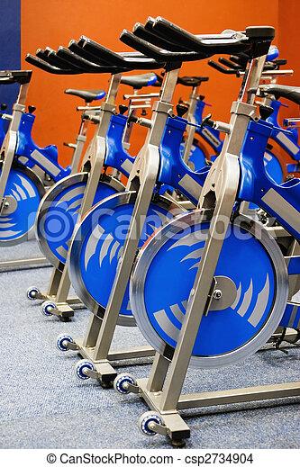 fitness spinning bike - csp2734904