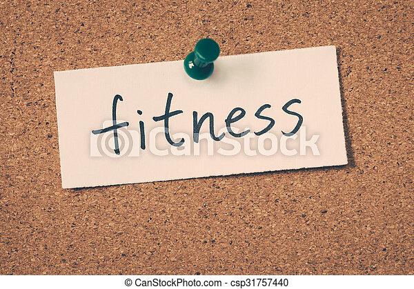 fitness - csp31757440