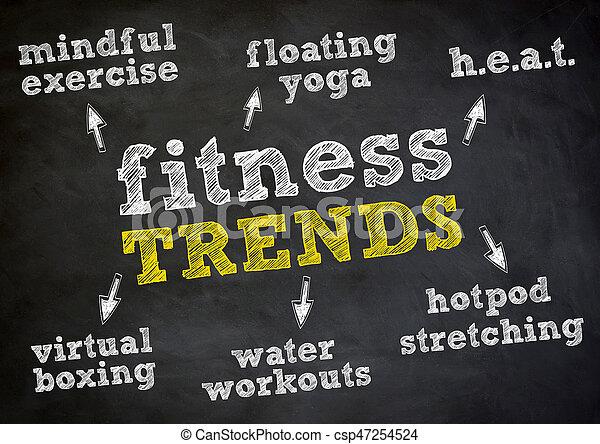 Fitness Trends - csp47254524