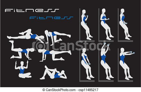 fitness - csp11485217