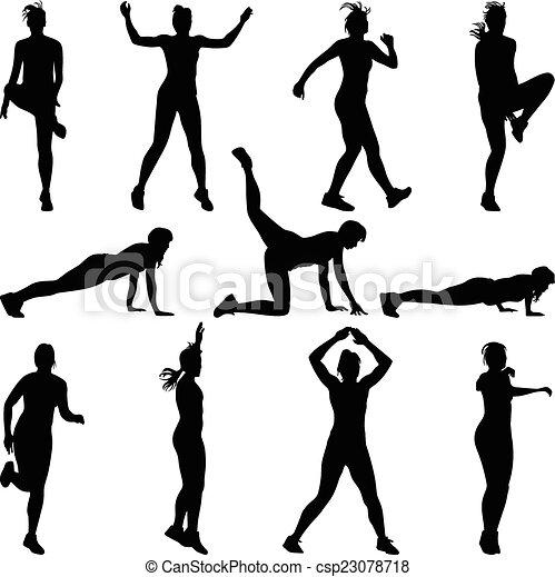 fitness - csp23078718