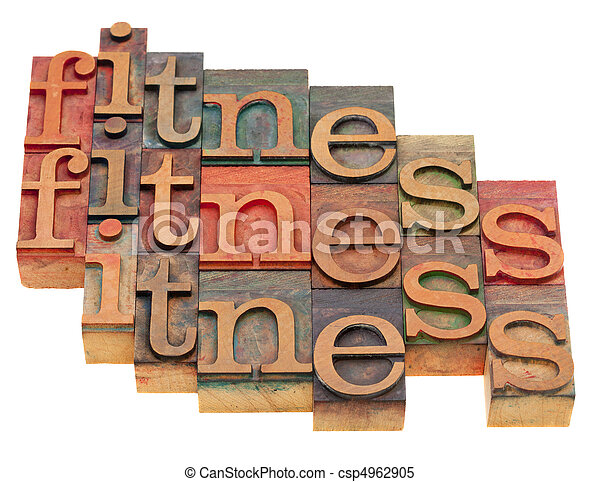 fitness word abstract - csp4962905