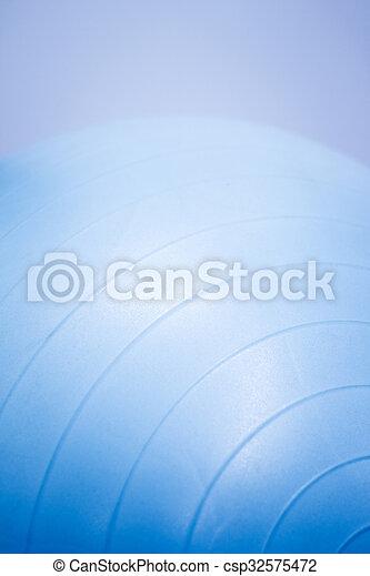 Fitness yoga and pilates gym ball - csp32575472