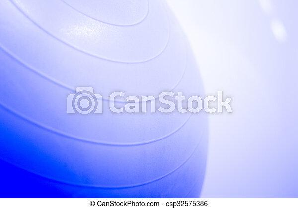Fitness yoga and pilates gym ball - csp32575386