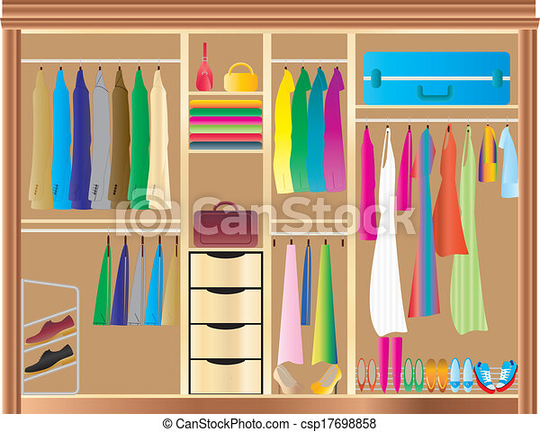 Closet Illustrations And Clipart 10127 Royalty Free