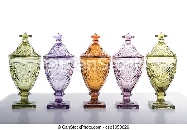 Five Candy Jars - csp1050626