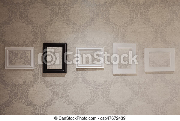 five empty frames csp47672439 - Empty Frames