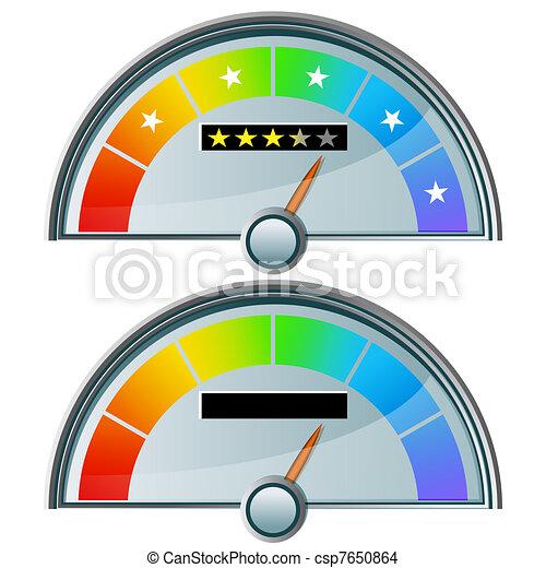 gauge clipart vector and illustration 6 725 gauge clip art vector rh canstockphoto com 7 45 Analog Clock Clip Art Sno Cone Clip Art