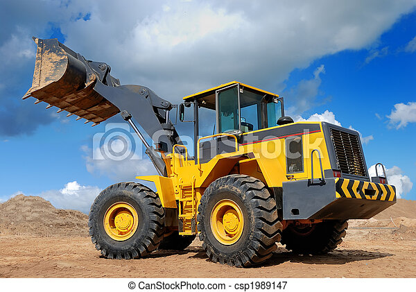 five-ton wheel loader bulldozer - csp1989147