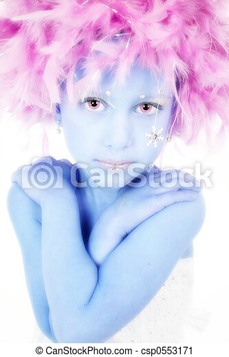 Five Year Old Princess - csp0553171
