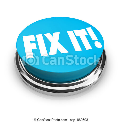 Fix It Button - csp1869893