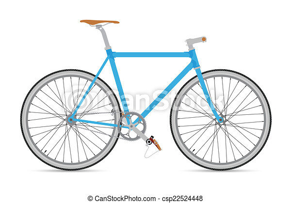 FIXED GEAR BICYCLE - csp22524448