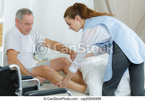 fizikoterápia, modern, rehabilitáció - csp52949499