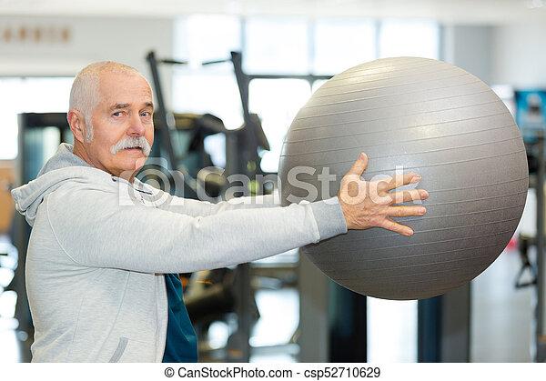 fizikoterápia, modern, rehabilitáció - csp52710629