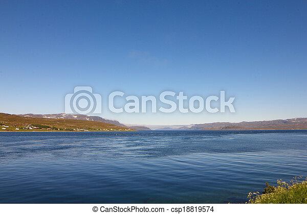 Fjord in Norway - csp18819574