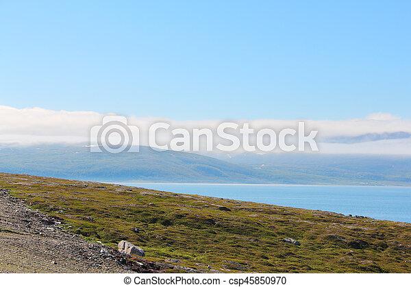 Fjord in Norway - csp45850970