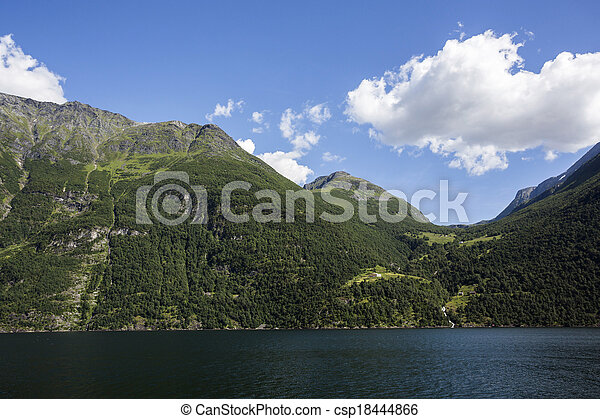 Fjord in Norway - csp18444866