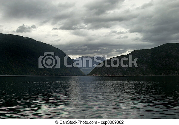 Fjord in Norway - csp0009062