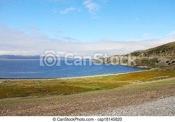 Fjord in Norway - csp18145820