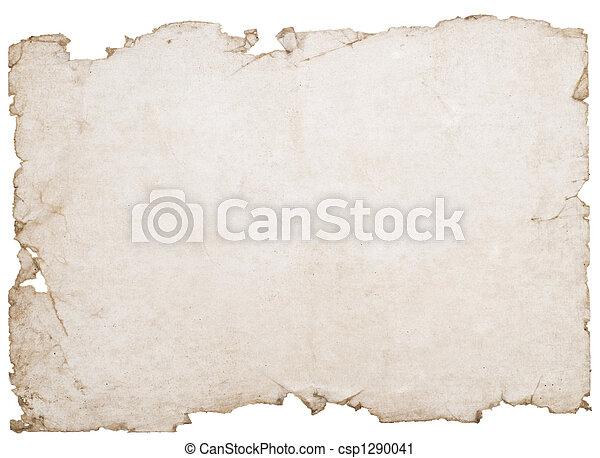 fläckat, papper - csp1290041