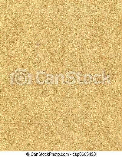 fläckigt, papper, gammal - csp8605438