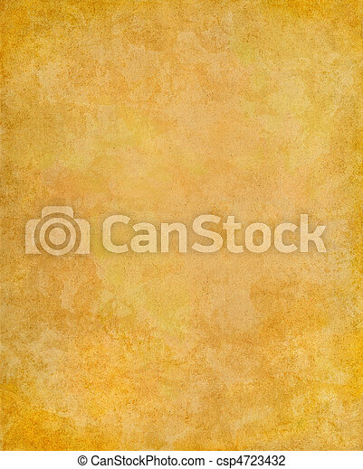 fläckigt, papper, gammal - csp4723432