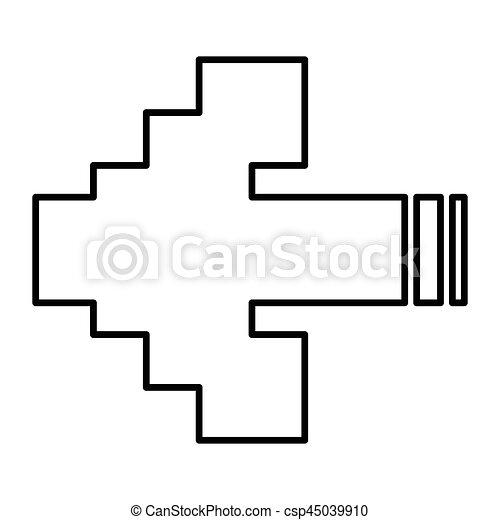 Flèches Pixel