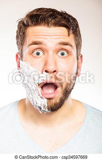 barberede modne billeder