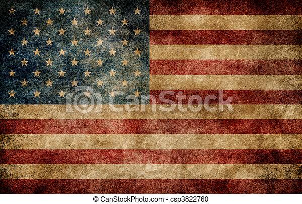 flag., américain - csp3822760