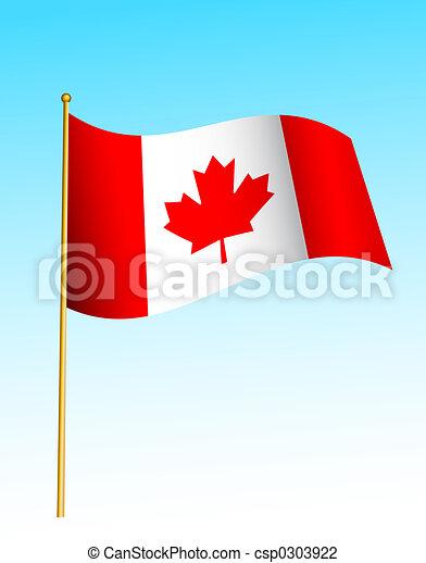 Flag - Canadian 2 - csp0303922