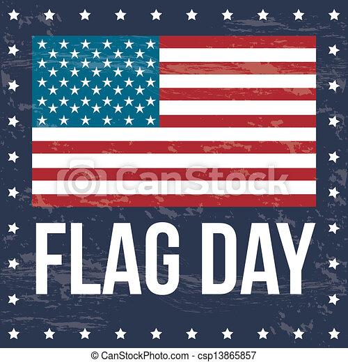 flag day - csp13865857
