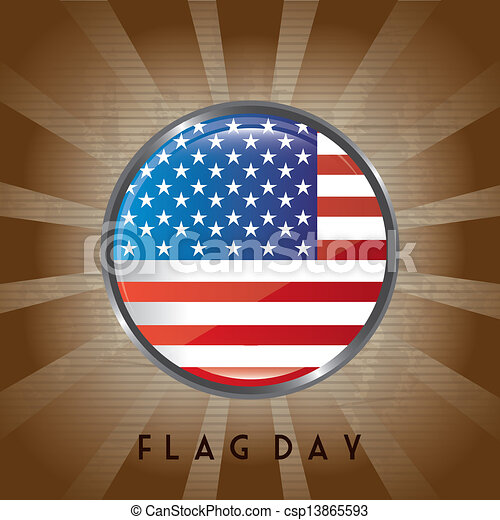 flag day - csp13865593