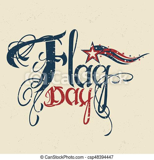Flag day - csp48394447