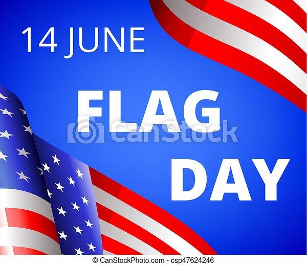 Flag Day - csp47624246