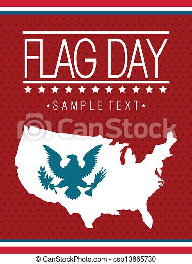 flag day - csp13865730