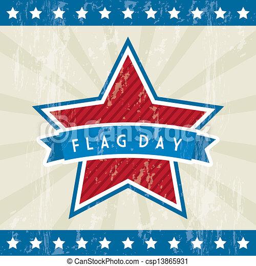 flag day - csp13865931