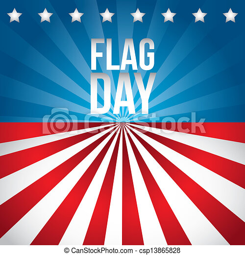 flag day - csp13865828